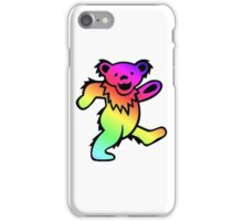 Grateful Dead Dancing Bear Rainbow iPhone Case/Skin