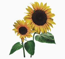 A Sunflower Mommy's Love Kids Clothes
