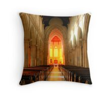 Sacred Heart Cathedral HDR Throw Pillow