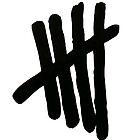 5SOS Logo (Black on White) by earthrunner