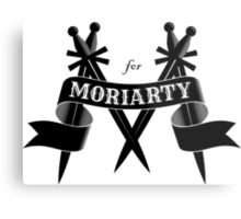 M for Moriarty Metal Print