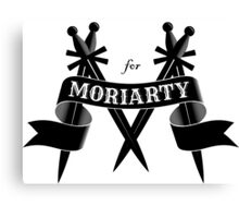 M for Moriarty Canvas Print