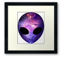 Alien Galaxy Framed Print