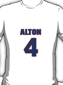 Basketball player Alton Ford jersey 4 T-Shirt