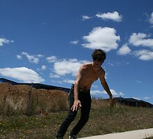 """""""Surfing Suburbia 2"""" by Samuel  Butler"""