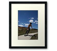 """Surfing Suburbia 2"" Framed Print"