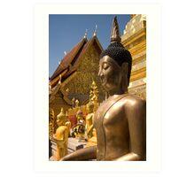 Thai Buddha Art Print