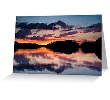 Down By The Reservoir Greeting Card