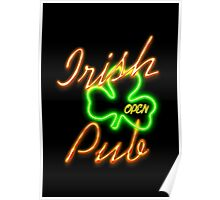 Irish Pub Party Poster