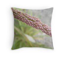 Grass Head Throw Pillow