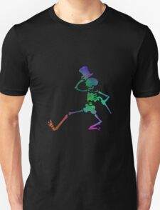 Grateful Dead Dancing Skeleton Trippy T-Shirt