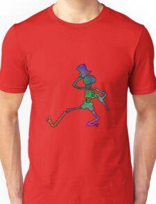 Grateful Dead Dancing Skeleton Trippy Unisex T-Shirt