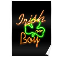 Irish Boy Party Poster