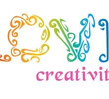 Love Creativity by shanmclean