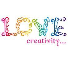 Love Creativity Photographic Print