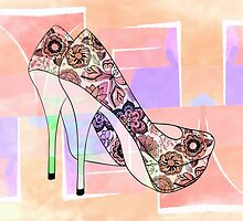 The Right Shoes 2 by LorriCrossno
