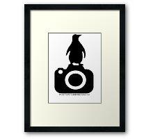Photo Rangers Penguin TShirt Framed Print