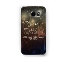 Yellow Coldplay Samsung Galaxy Case/Skin