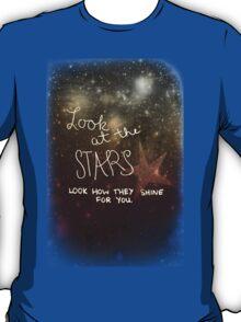 Yellow Coldplay T-Shirt