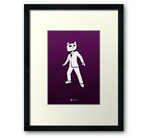 Action Teddy Framed Print