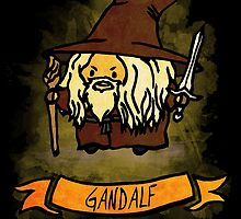 Bouncy Gandalf by welcomethemadne