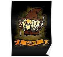 Bouncy Gandalf Poster