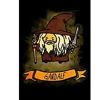 Bouncy Gandalf Photographic Print