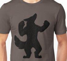 Howling Werewolf Silhouette Unisex T-Shirt