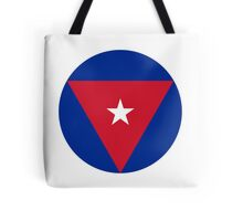 Roundel of the Cuban Air Force  Tote Bag