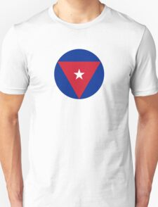 Roundel of the Cuban Air Force  T-Shirt