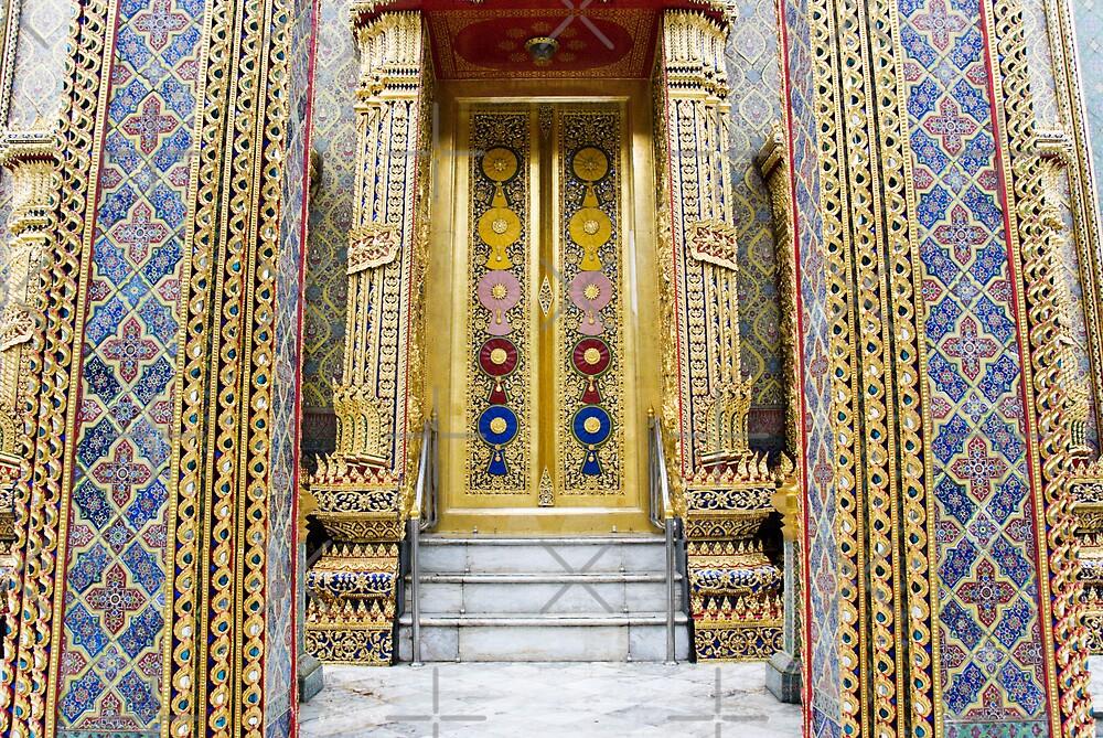 Temple entrance by Juha Sompinmäki