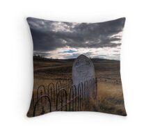 Kiandra Grave Throw Pillow