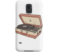 Vintage Record Player Samsung Galaxy Case/Skin