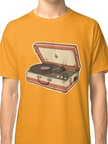 Vintage Record Player Classic T-Shirt