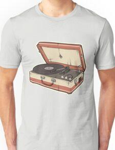 Vintage Record Player Unisex T-Shirt
