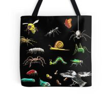 Creatures wallpaper Tote Bag
