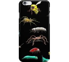 Creatures wallpaper iPhone Case/Skin
