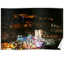 New Year and Christmas in Edinburgh Poster