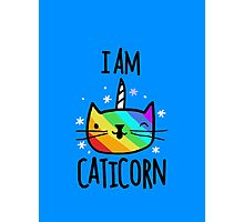 I Am Caticorn Photographic Print