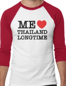 ME LOVE THAILAND LONGTIME Men's Baseball ¾ T-Shirt