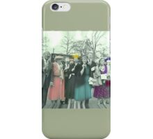 Zombie Squad iPhone Case/Skin