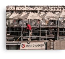 Sweeper Canvas Print