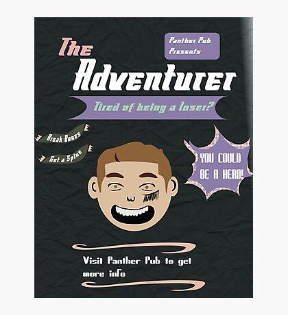 Ike Adventure Poster! Photographic Print