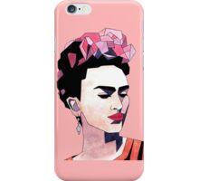 Geometric Frida Kahlo iPhone Case/Skin