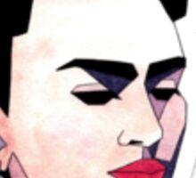 Geometric Frida Kahlo Sticker