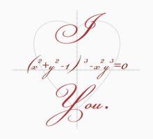I (Heart-shaped Curve) You. by Noah Kantor