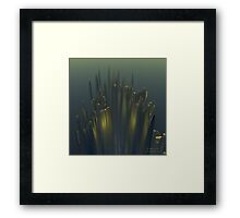 Cliff Ribbon, 2000 Framed Print
