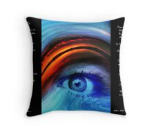 I SEE YOU  Version 2         Bonita Moore IPA Throw Pillow
