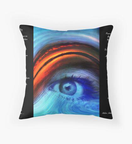 I SEE YOU  Version 2         Bonita Moore IPA Throw Pillow