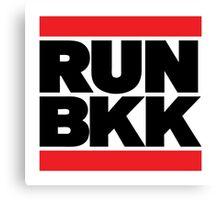 RUN BKK Canvas Print